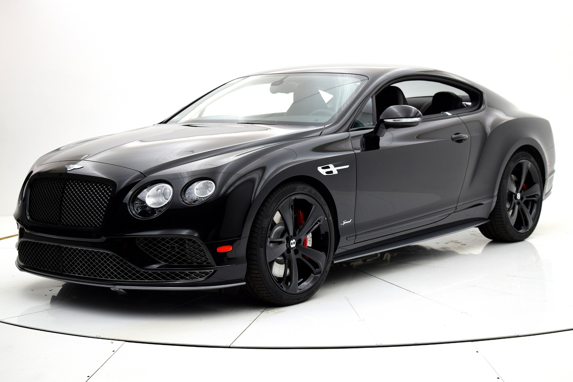 new 2017 bentley continental gt speed black edition for sale 260 690 fc kerbeck bentley. Black Bedroom Furniture Sets. Home Design Ideas