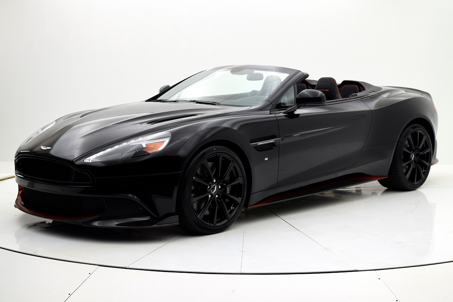 Aston Martin Vanquish 2018 For Sale $352204 Stock Number 18A109