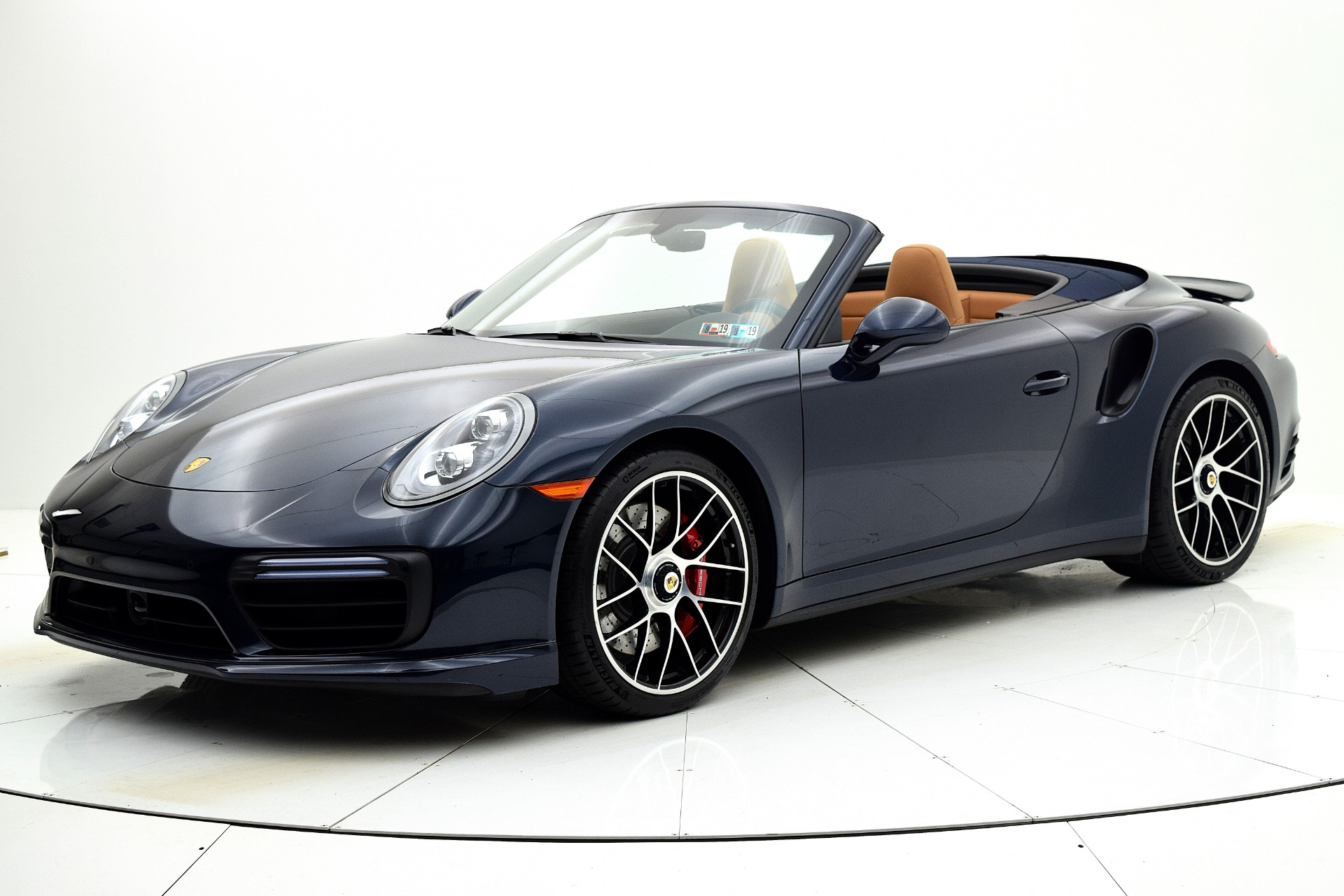 Used 2019 Porsche 911 Turbo Cabriolet for sale Sold at F.C. Kerbeck Bentley Palmyra N.J. in Palmyra NJ 08065 2