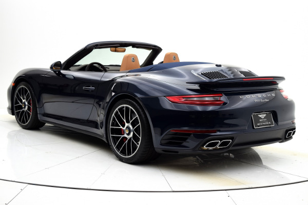 Used 2019 Porsche 911 Turbo Cabriolet for sale Sold at F.C. Kerbeck Bentley Palmyra N.J. in Palmyra NJ 08065 4