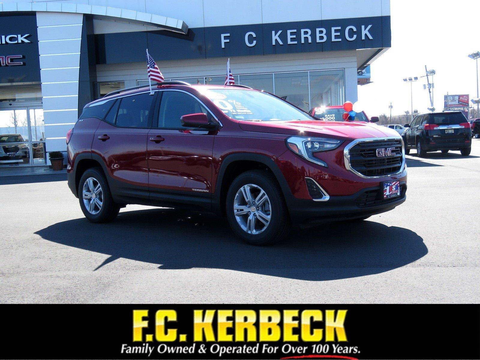 New 2019 GMC Terrain SLE for sale $32,965 at F.C. Kerbeck Bentley Palmyra N.J. in Palmyra NJ 08065 1