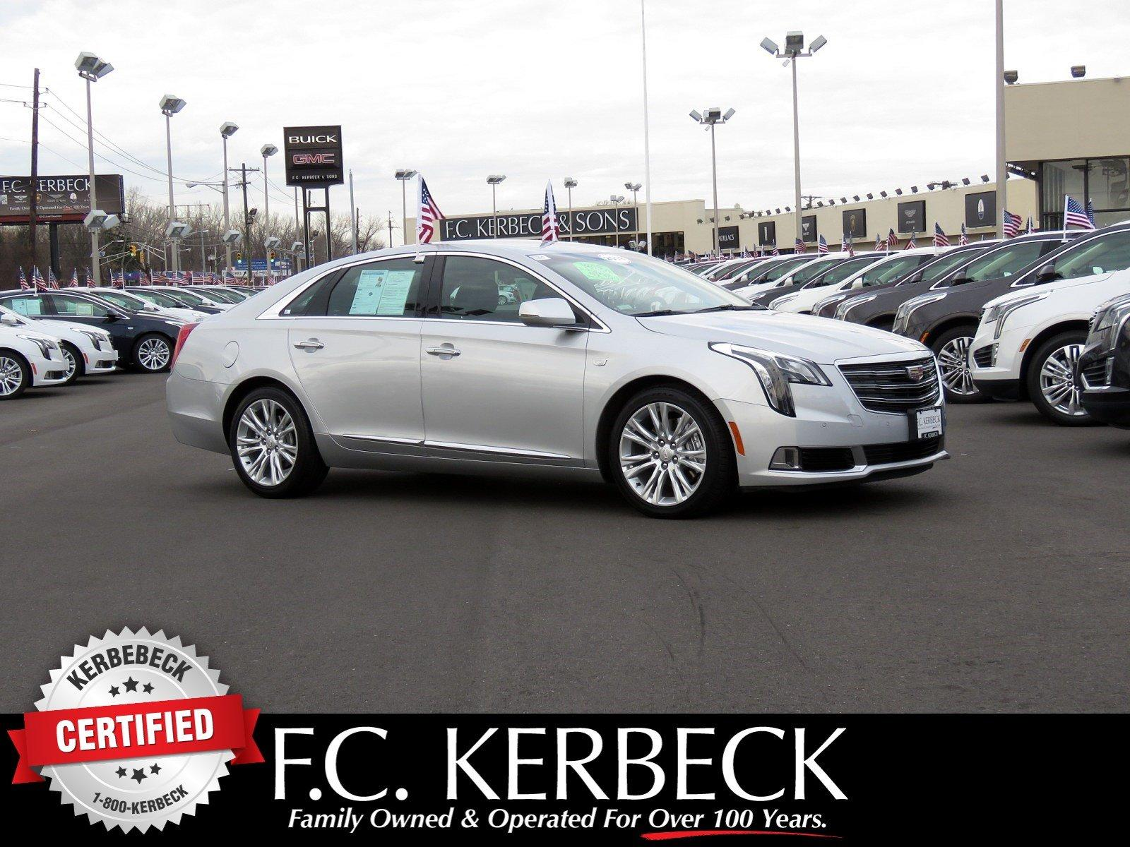 Used 2018 Cadillac XTS Luxury for sale $35,040 at F.C. Kerbeck Bentley Palmyra N.J. in Palmyra NJ 08065 1