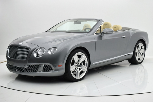Used Used 2012 Bentley Continental GT W12 Convertible for sale $99,880 at F.C. Kerbeck Bentley Palmyra N.J. in Palmyra NJ