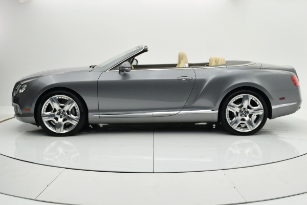 Used 2012 Bentley Continental GT W12 Convertible for sale Sold at F.C. Kerbeck Bentley Palmyra N.J. in Palmyra NJ 08065 3