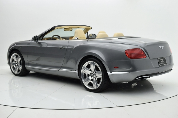 Used 2012 Bentley Continental GT W12 Convertible for sale Sold at F.C. Kerbeck Bentley Palmyra N.J. in Palmyra NJ 08065 4