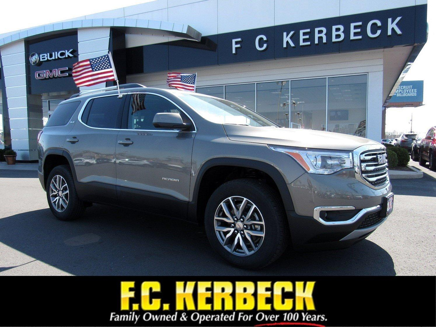 New 2019 GMC Acadia SLE for sale $34,104 at F.C. Kerbeck Bentley Palmyra N.J. in Palmyra NJ 08065 1
