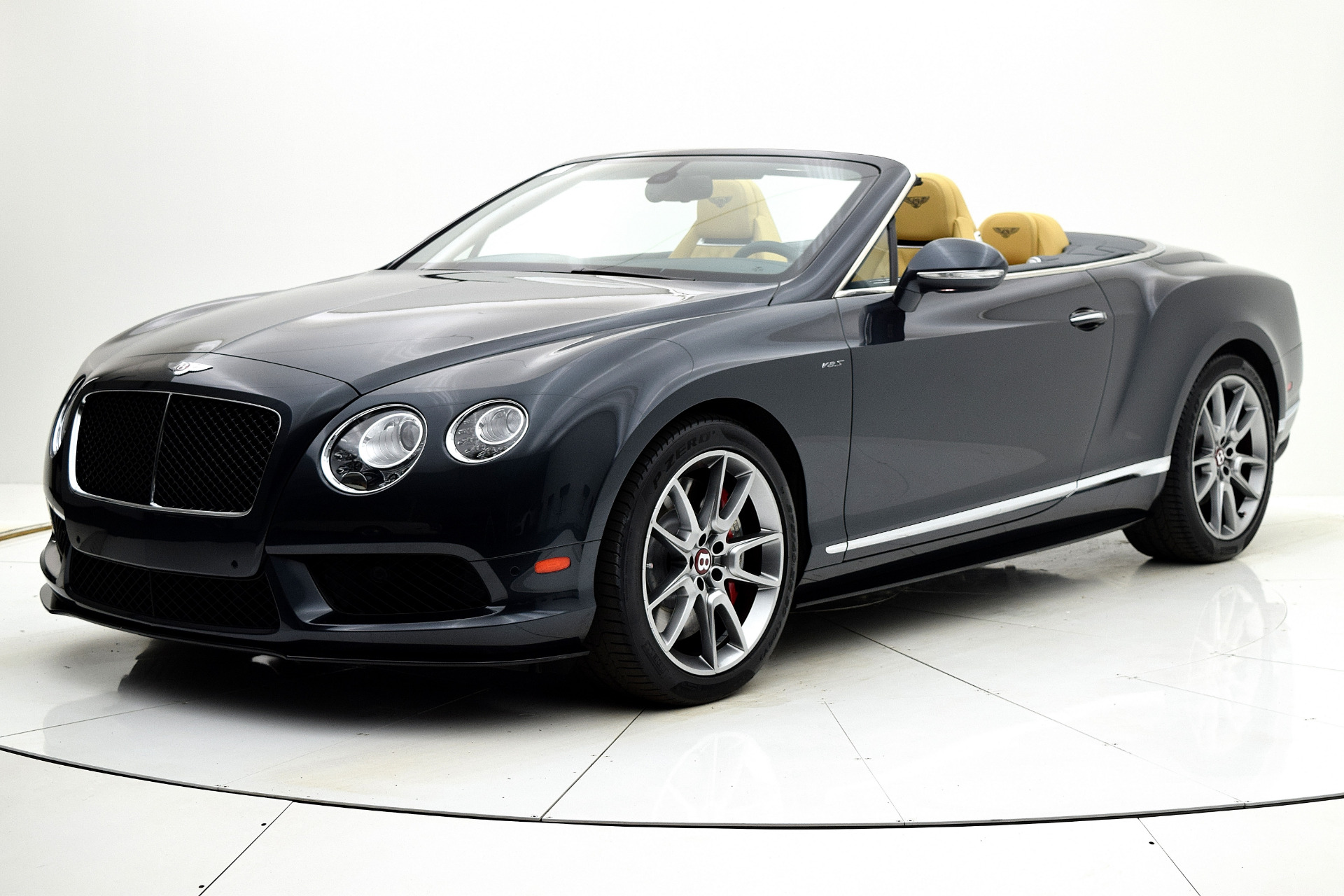 Used 2015 Bentley Continental GT V8 S Convertible for sale Sold at F.C. Kerbeck Bentley Palmyra N.J. in Palmyra NJ 08065 2