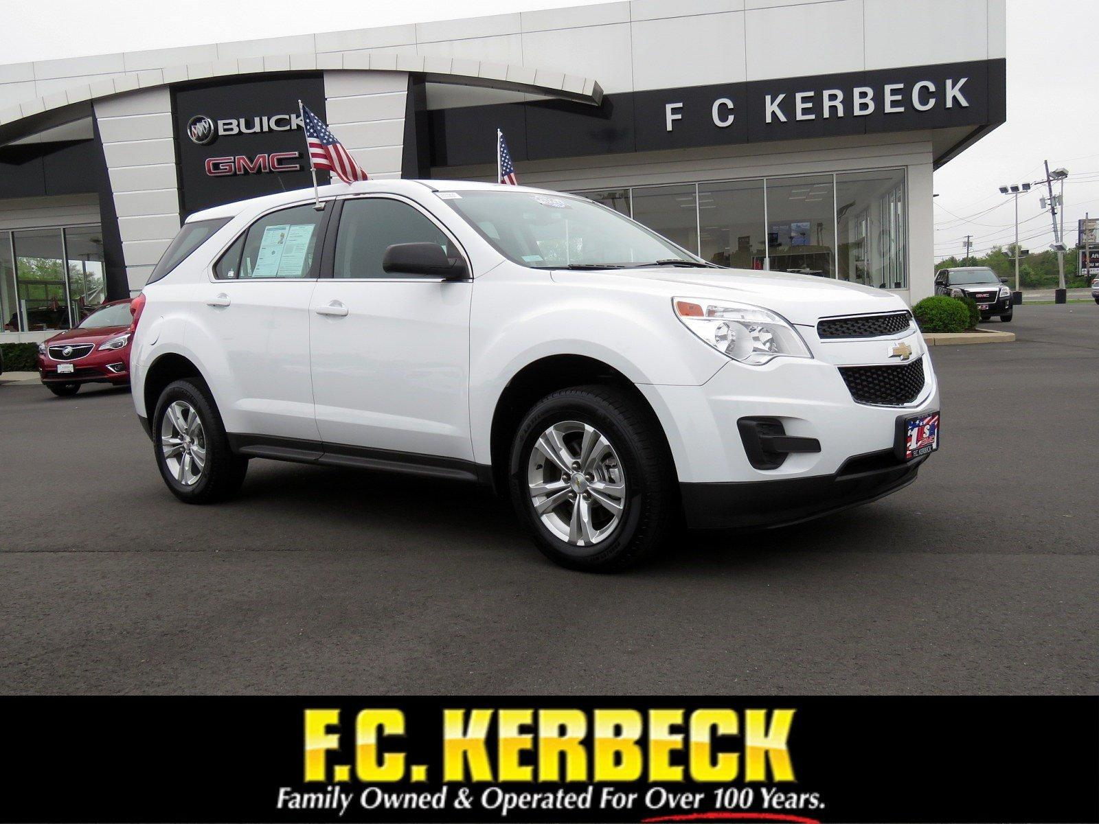 Used 2015 Chevrolet Equinox LS for sale $14,990 at F.C. Kerbeck Bentley Palmyra N.J. in Palmyra NJ 08065 1