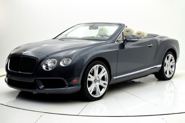 Used 2013 Bentley Continental GT V8 Convertible for sale Sold at F.C. Kerbeck Bentley Palmyra N.J. in Palmyra NJ 08065 2