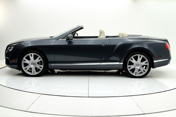 Used 2013 Bentley Continental GT V8 Convertible for sale Sold at F.C. Kerbeck Bentley Palmyra N.J. in Palmyra NJ 08065 3