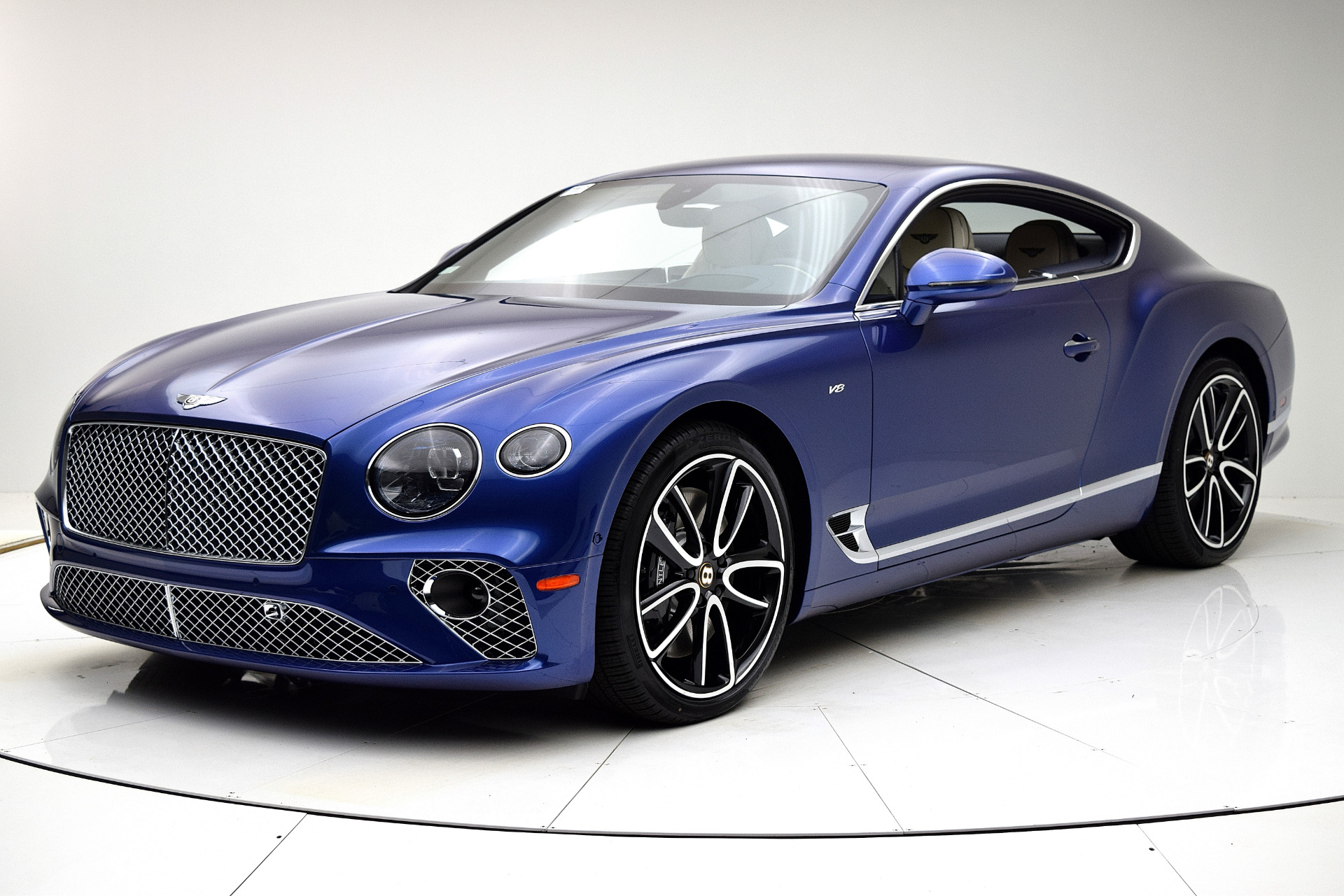 New 2020 Bentley Continental GT V8 Coupe for sale Call for price at F.C. Kerbeck Bentley Palmyra N.J. in Palmyra NJ 08065 2