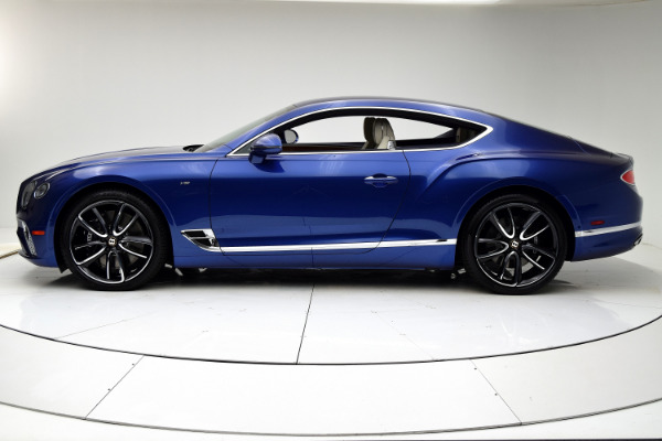 New 2020 Bentley Continental GT V8 Coupe for sale Call for price at F.C. Kerbeck Bentley Palmyra N.J. in Palmyra NJ 08065 3