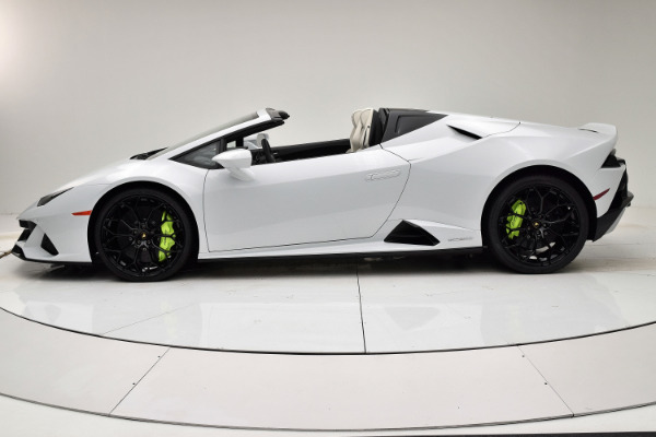 New 2020 Lamborghini Huracan EVO Spyder for sale $325,145 at F.C. Kerbeck Bentley Palmyra N.J. in Palmyra NJ 08065 3