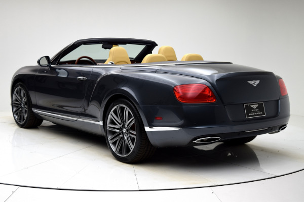 Used 2013 Bentley Continental GT W12 Convertible for sale Sold at F.C. Kerbeck Bentley Palmyra N.J. in Palmyra NJ 08065 4