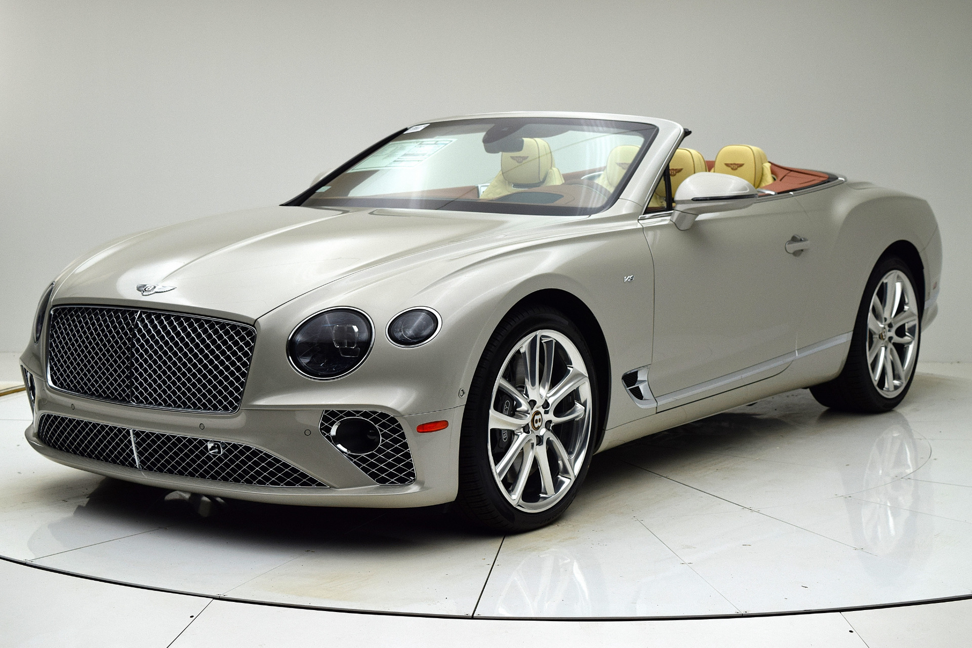 New 2020 Bentley Continental GT V8 Convertible for sale Call for price at F.C. Kerbeck Bentley Palmyra N.J. in Palmyra NJ 08065 2