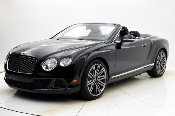 Used Used 2014 Bentley Continental GT Speed Convertible for sale $125,880 at Bentley Palmyra N.J. in Palmyra NJ