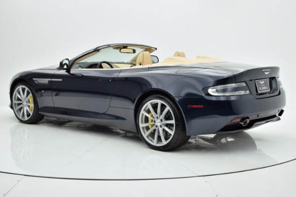 Used 2016 Aston Martin DB9 Volante for sale Sold at F.C. Kerbeck Bentley Palmyra N.J. in Palmyra NJ 08065 4