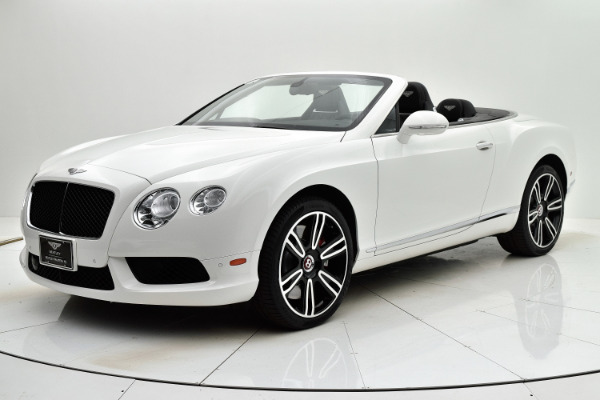 Used Used 2014 Bentley Continental GT V8 Convertible for sale $114,880 at Bentley Palmyra N.J. in Palmyra NJ