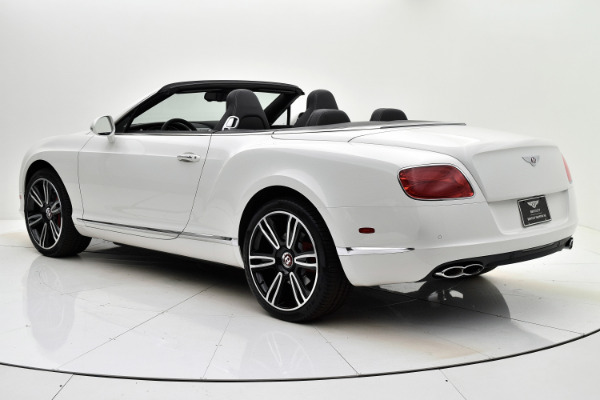 Used 2014 Bentley Continental GT V8 Convertible for sale Sold at Bentley Palmyra N.J. in Palmyra NJ 08065 4