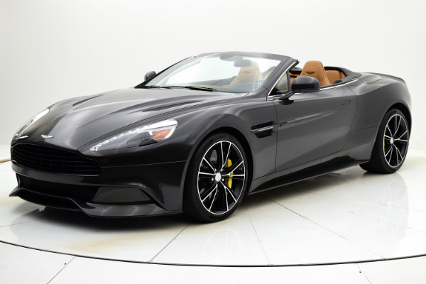 Used Used 2014 Aston Martin Vanquish Volante for sale $149,880 at F.C. Kerbeck Bentley Palmyra N.J. in Palmyra NJ