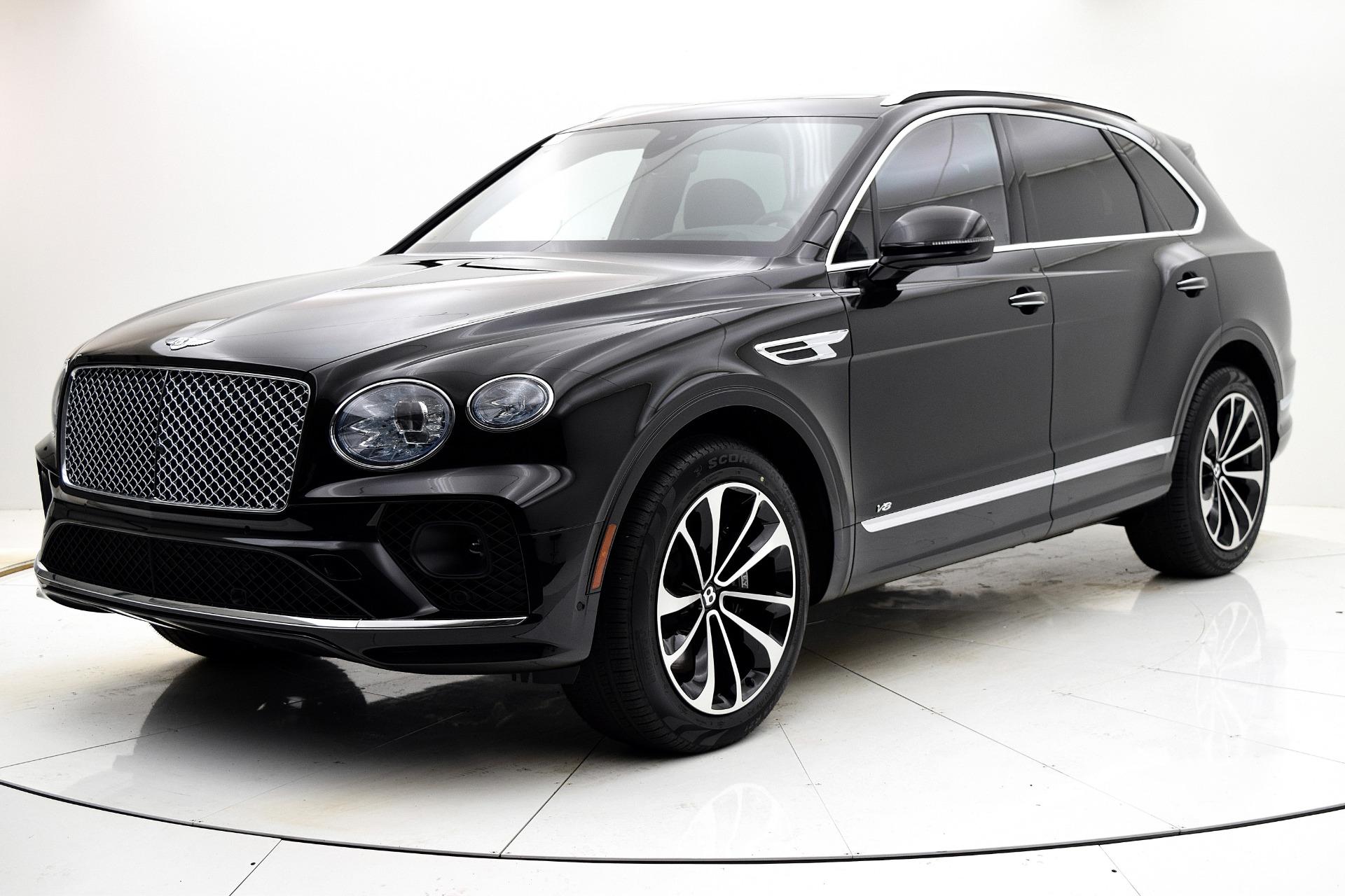 New 2021 Bentley Bentayga V8 for sale $208,255 at Bentley Palmyra N.J. in Palmyra NJ 08065 2