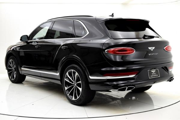 New 2021 Bentley Bentayga V8 for sale $208,255 at Bentley Palmyra N.J. in Palmyra NJ 08065 4