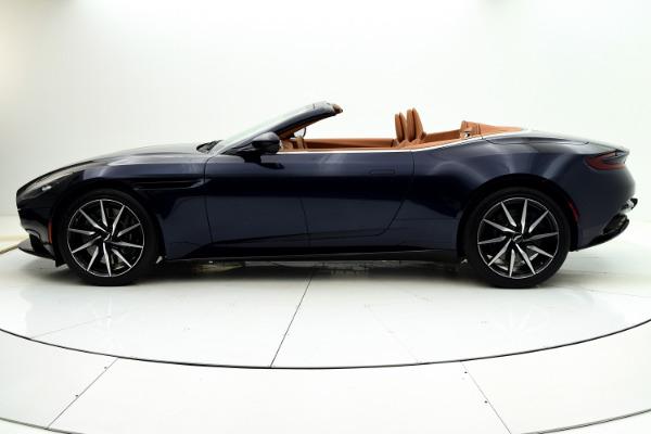 New 2021 Aston Martin DB11 Volante for sale $253,986 at Bentley Palmyra N.J. in Palmyra NJ 08065 3