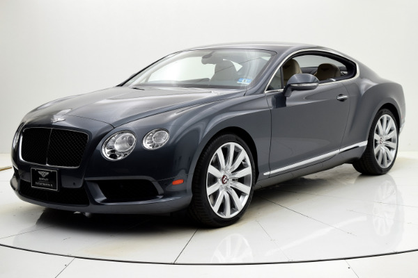 Used Used 2013 Bentley Continental GT V8 Coupe for sale $99,880 at Bentley Palmyra N.J. in Palmyra NJ