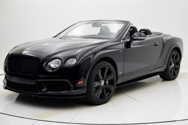 Used Used 2015 Bentley Continental GT V8 S Convertible for sale $133,880 at Bentley Palmyra N.J. in Palmyra NJ