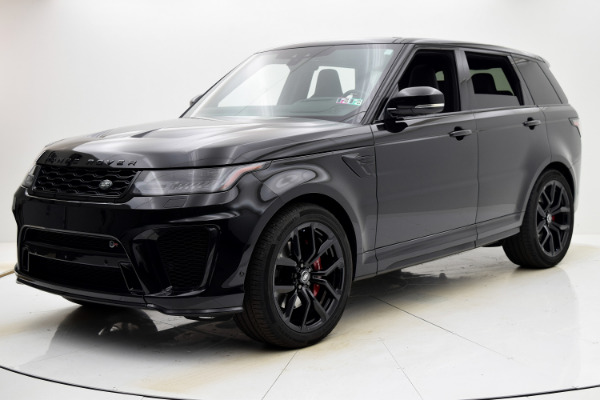 Used Used 2018 Land Rover Range Rover Sport SVR for sale $99,880 at Bentley Palmyra N.J. in Palmyra NJ