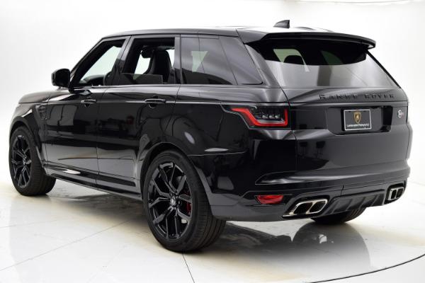 Used 2018 Land Rover Range Rover Sport SVR for sale $99,880 at Bentley Palmyra N.J. in Palmyra NJ 08065 4