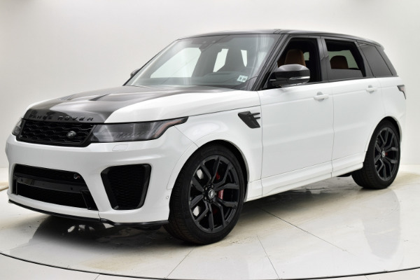 Used Used 2020 Land Rover Range Rover Sport SVR for sale $129,880 at Bentley Palmyra N.J. in Palmyra NJ