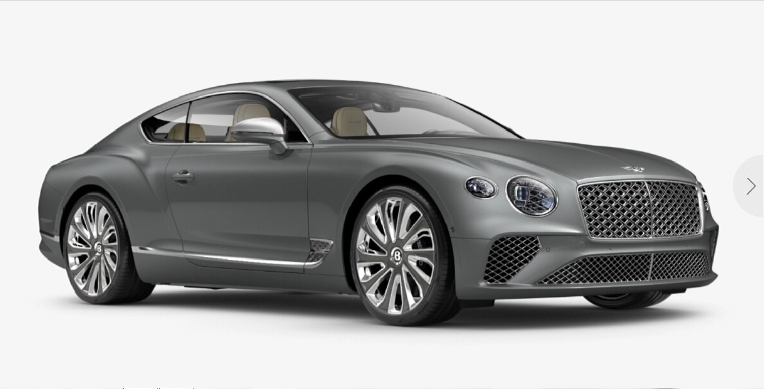 New 2021 Bentley Continental GT V8 Mulliner for sale $293,040 at Bentley Palmyra N.J. in Palmyra NJ 08065 2
