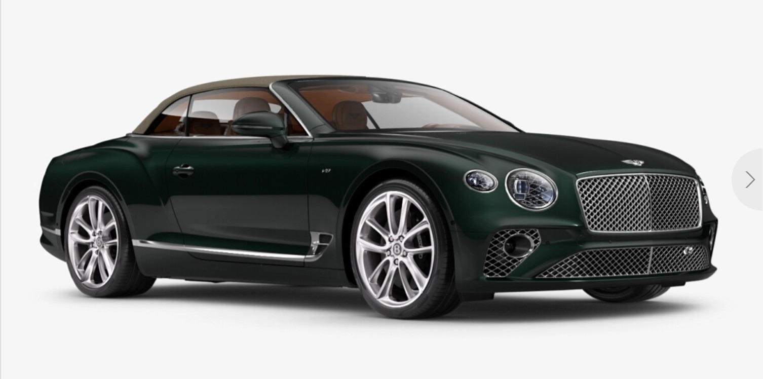 New 2021 Bentley Continental GT V8 Convertible for sale $279,380 at Bentley Palmyra N.J. in Palmyra NJ 08065 2