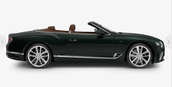 New 2021 Bentley Continental GT V8 Convertible for sale $279,380 at Bentley Palmyra N.J. in Palmyra NJ 08065 3