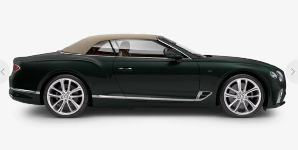 New 2021 Bentley Continental GT V8 Convertible for sale $279,380 at Bentley Palmyra N.J. in Palmyra NJ 08065 4