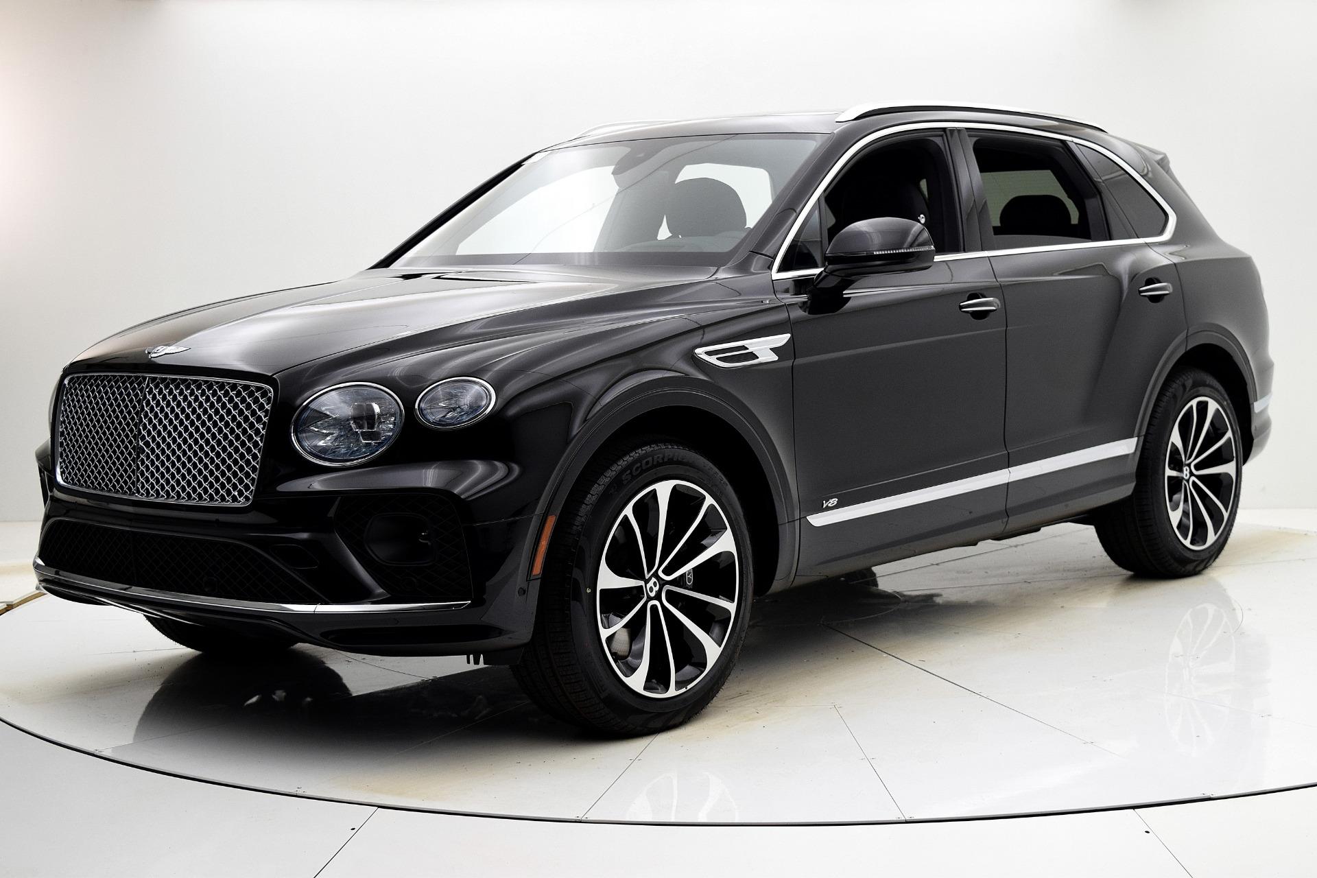 New 2021 Bentley Bentayga V8 for sale $198,590 at Bentley Palmyra N.J. in Palmyra NJ 08065 2