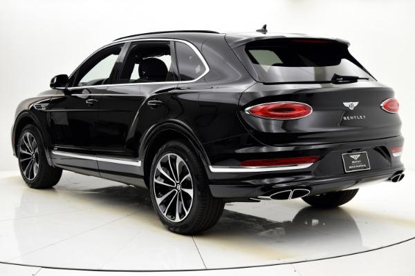 New 2021 Bentley Bentayga V8 for sale $198,590 at Bentley Palmyra N.J. in Palmyra NJ 08065 4