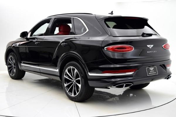 New 2021 Bentley Bentayga V8 for sale $217,190 at Bentley Palmyra N.J. in Palmyra NJ 08065 4