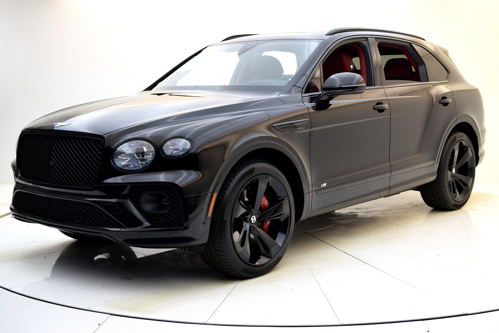 New 2021 Bentley Bentayga V8 for sale $224,885 at Bentley Palmyra N.J. in Palmyra NJ 08065 2