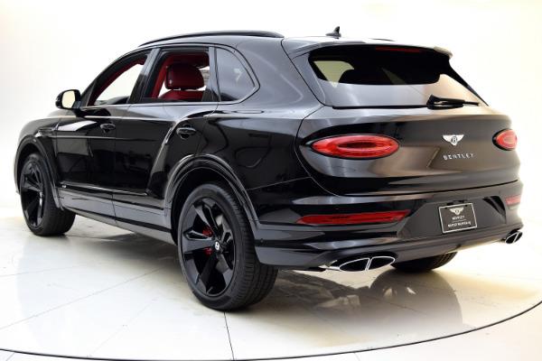 New 2021 Bentley Bentayga V8 for sale $224,885 at Bentley Palmyra N.J. in Palmyra NJ 08065 4