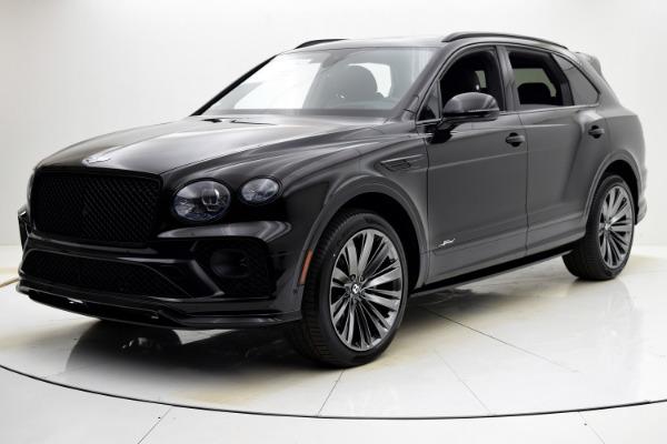 New 2021 Bentley Bentayga Speed for sale $281,260 at Bentley Palmyra N.J. in Palmyra NJ 08065 2