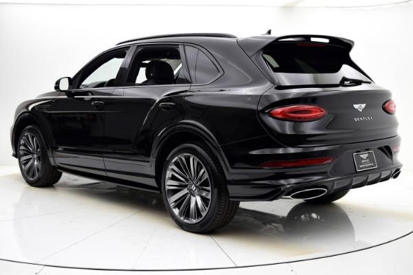 New 2021 Bentley Bentayga Speed for sale $281,260 at Bentley Palmyra N.J. in Palmyra NJ 08065 4