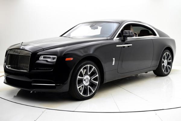 Used Used 2017 Rolls-Royce Wraith for sale $229,880 at Bentley Palmyra N.J. in Palmyra NJ
