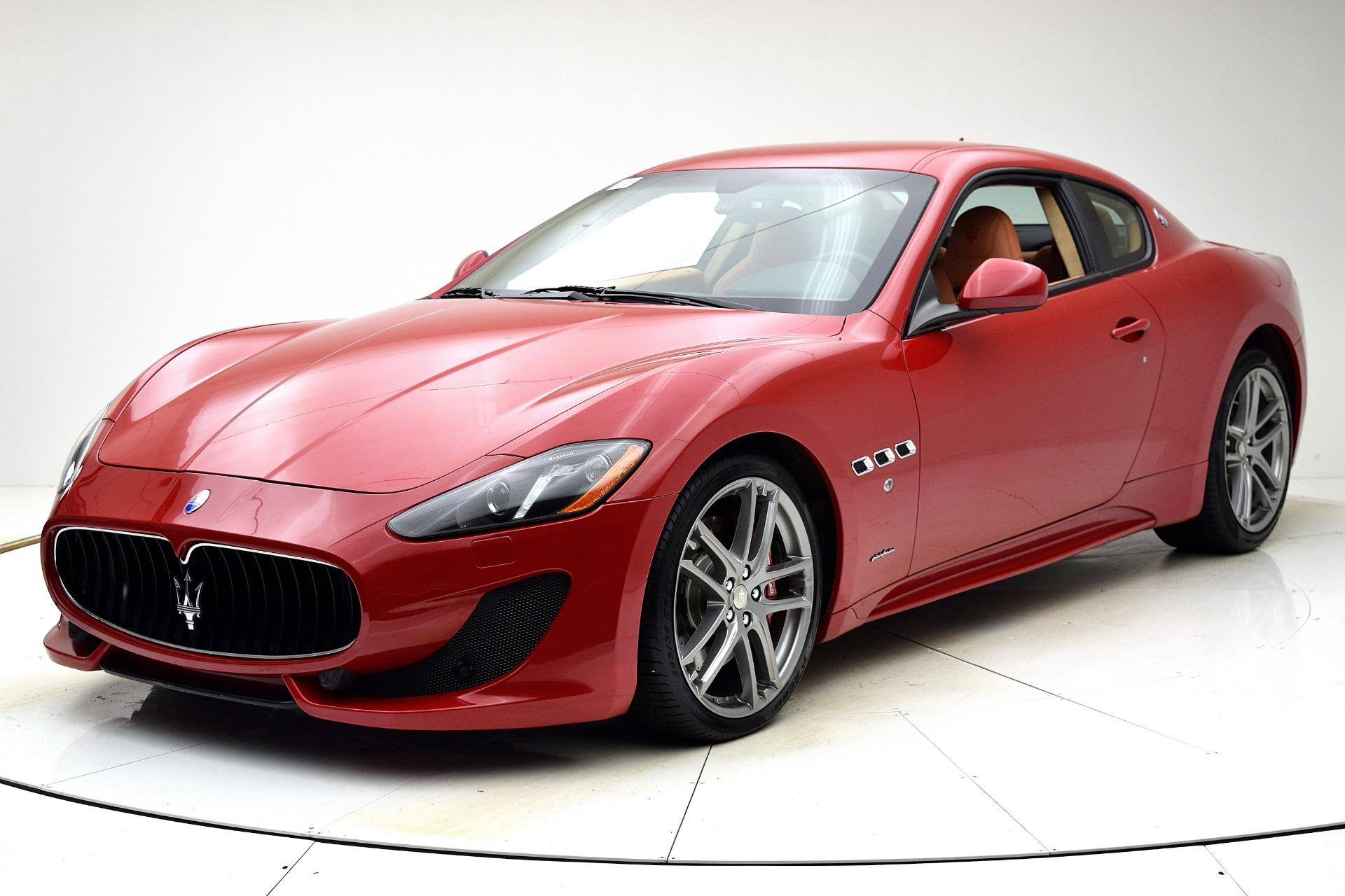 Used 2016 Maserati GranTurismo Sport for sale $64,880 at Bentley Palmyra N.J. in Palmyra NJ 08065 2
