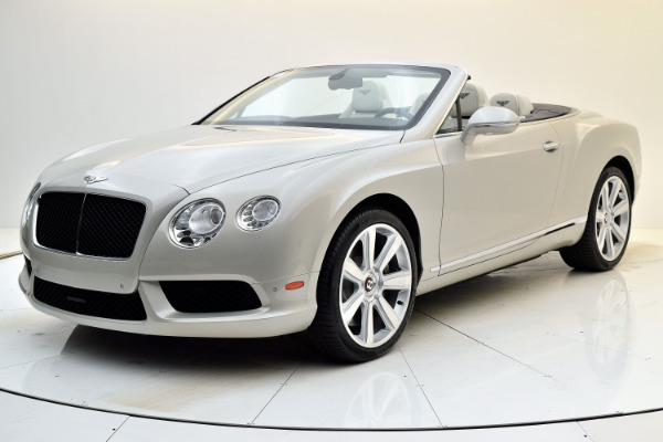 Used Used 2013 Bentley Continental GT V8 Convertible for sale $115,880 at Bentley Palmyra N.J. in Palmyra NJ
