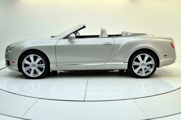 Used 2013 Bentley Continental GT V8 Convertible for sale Sold at Bentley Palmyra N.J. in Palmyra NJ 08065 3