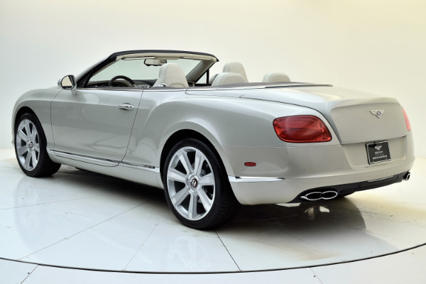 Used 2013 Bentley Continental GT V8 Convertible for sale Sold at Bentley Palmyra N.J. in Palmyra NJ 08065 4