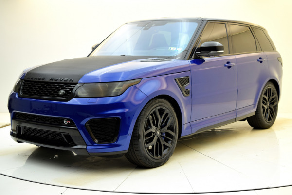 Used Used 2017 Land Rover Range Rover Sport SVR for sale $79,880 at Bentley Palmyra N.J. in Palmyra NJ