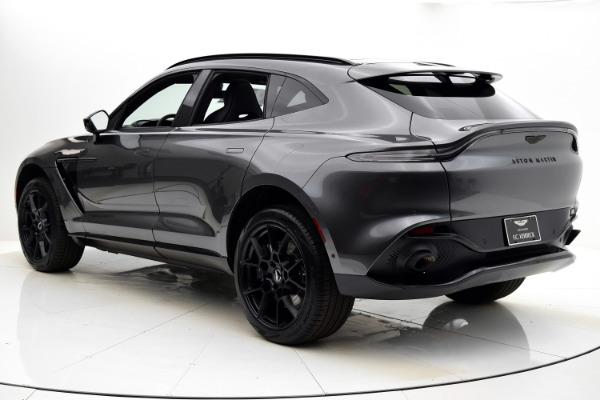 New 2021 Aston Martin DBX for sale $205,086 at Bentley Palmyra N.J. in Palmyra NJ 08065 4
